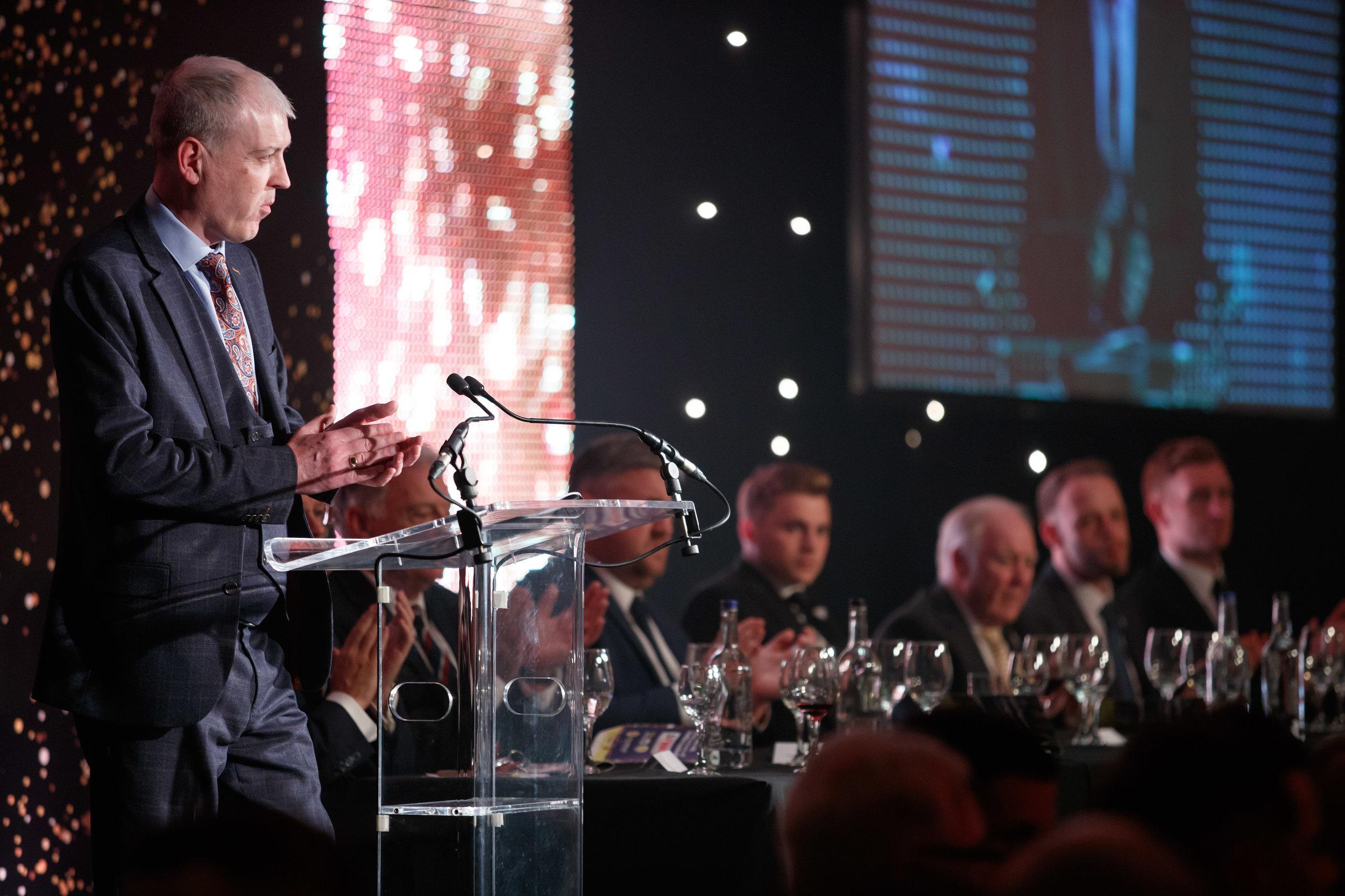 Stephen Halliday has ended hiis three years as SFWA president