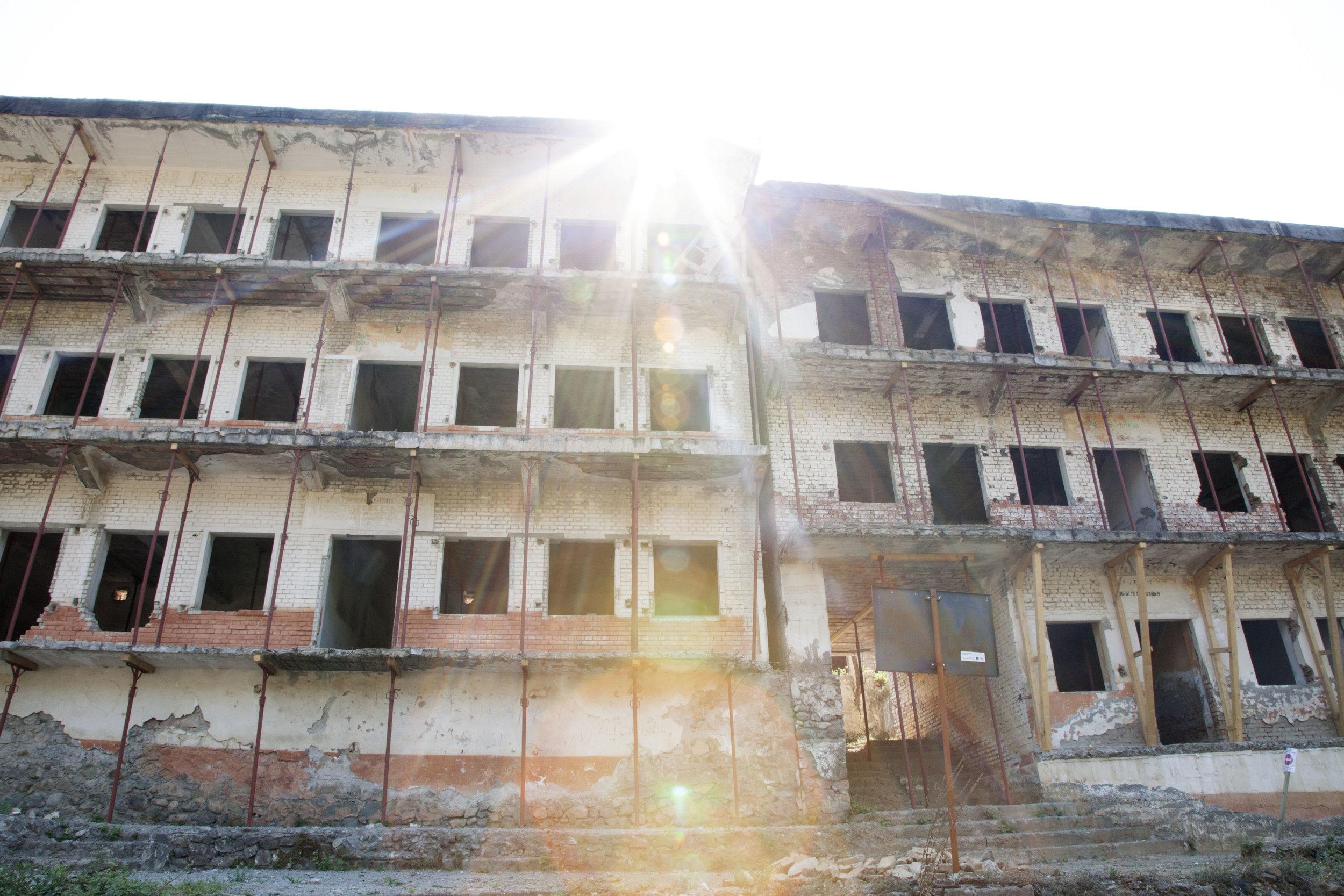 Il carcere per dissidenti di Spac, a nord di Tirana.
