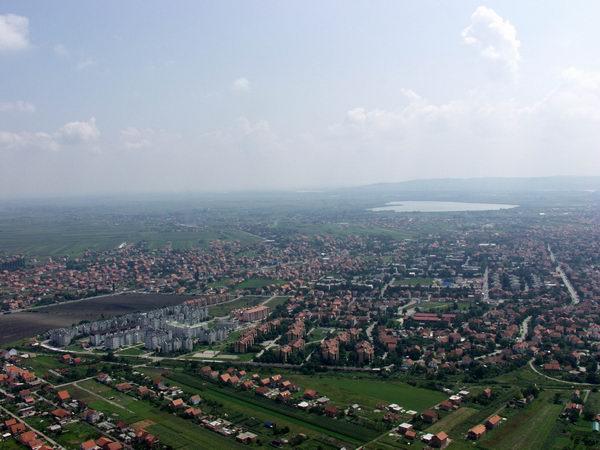 Il quartiere belgradese di Borča (Wikipedia).