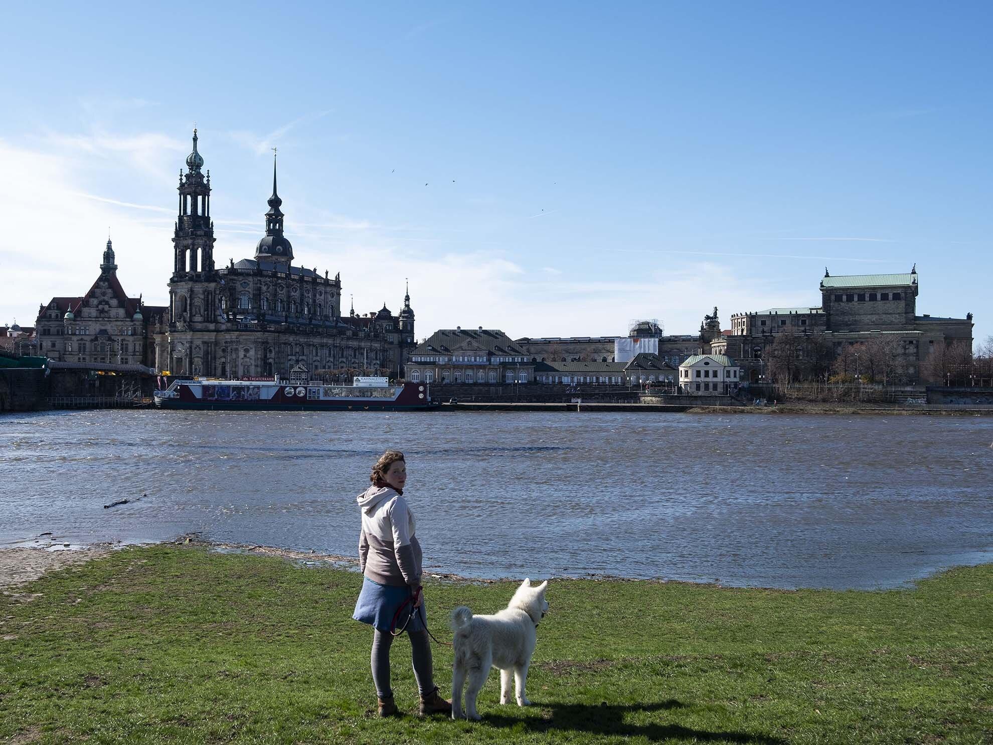 Dresda, il fiume Elba e il centro storico | Ignacio Maria Coccia, Goethe-Institut.
