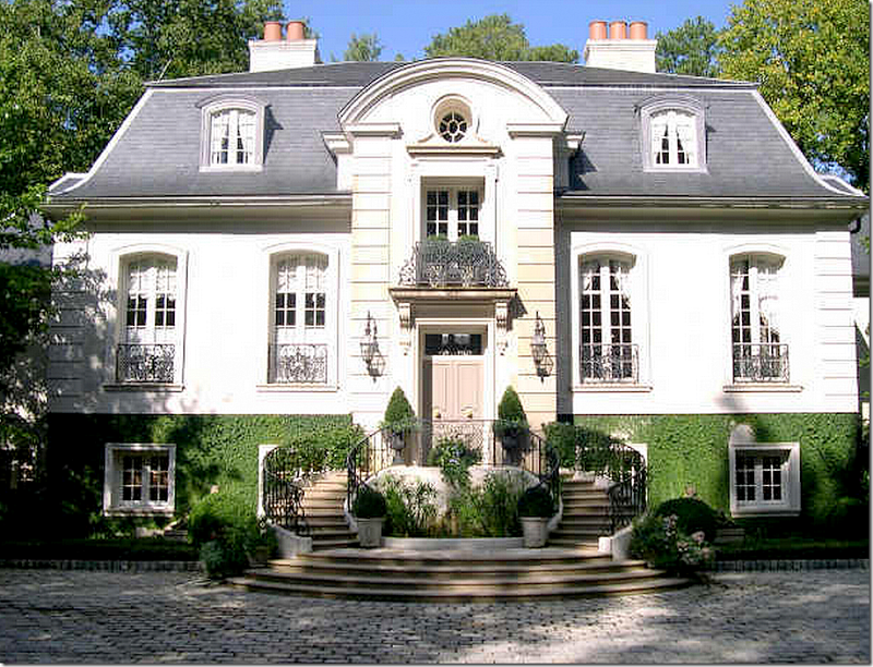Parisian hotel style home in Atlanta by Ginny Magher