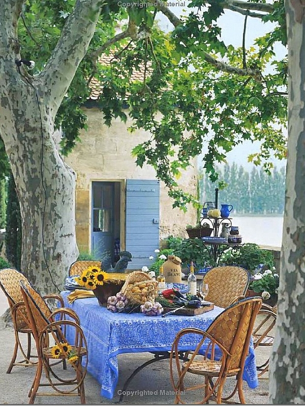 Mas de Baraquetin Provence - The home that started it all: a love of French design, a partnership with the architects in Provence, and features in the New York Times, Veranda, and more.