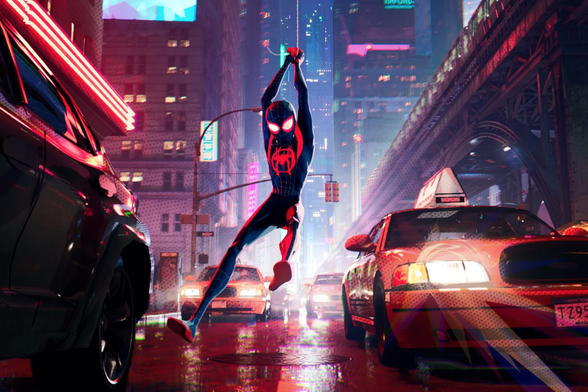 June 14 | Spider-Man into the Spider Verse