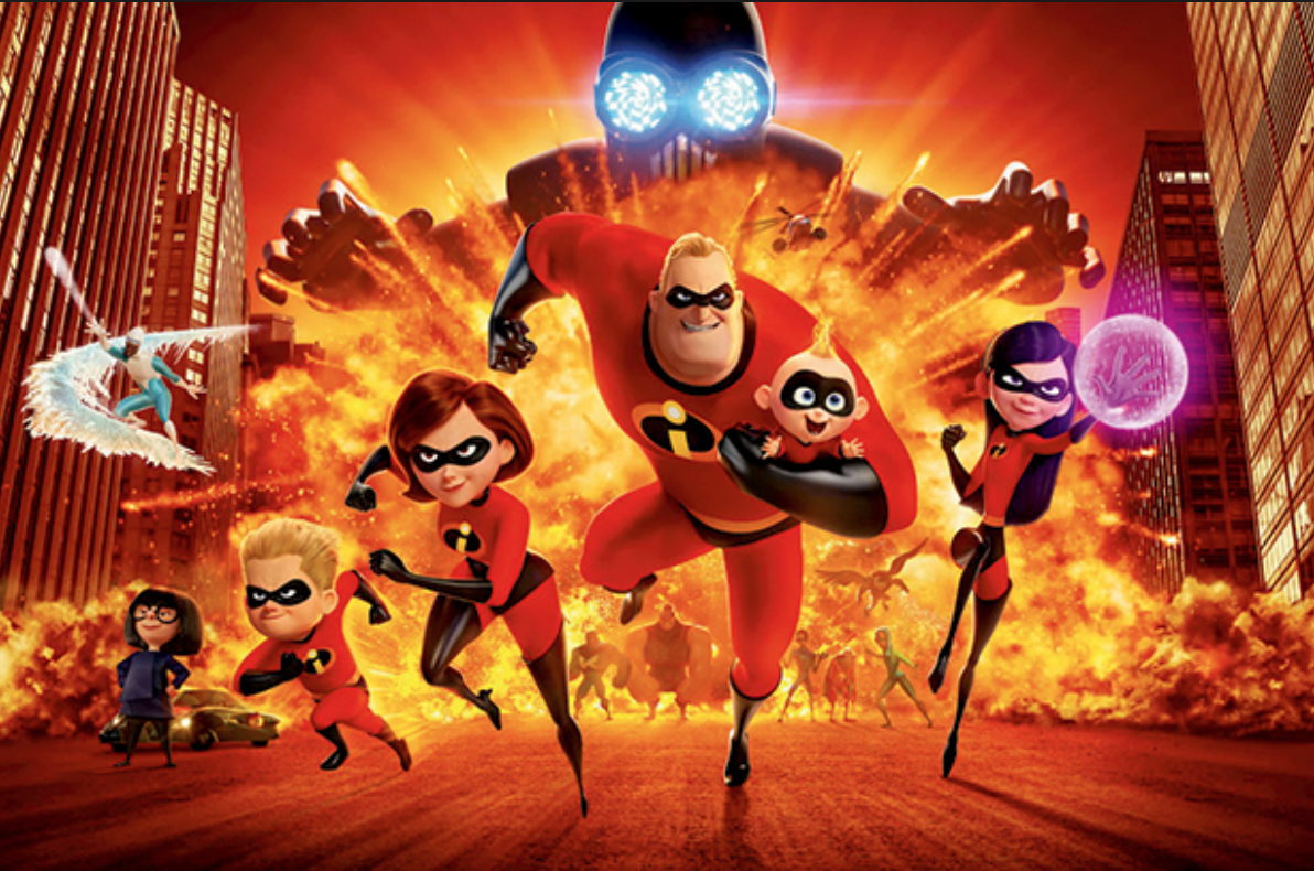 August 2 | Incredibles 2