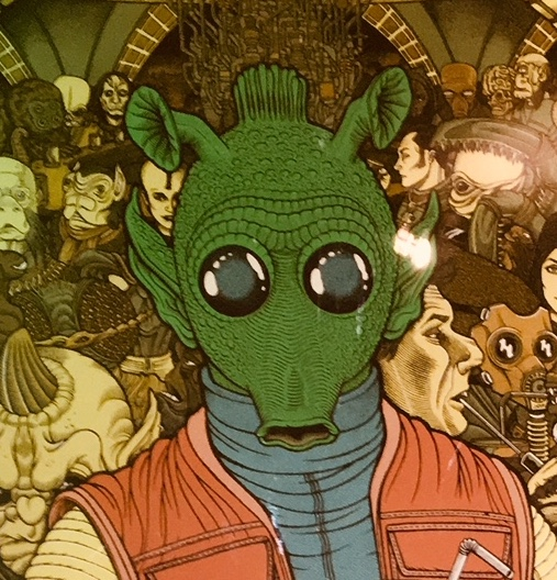 Matthew Scott's Greedo Shrine