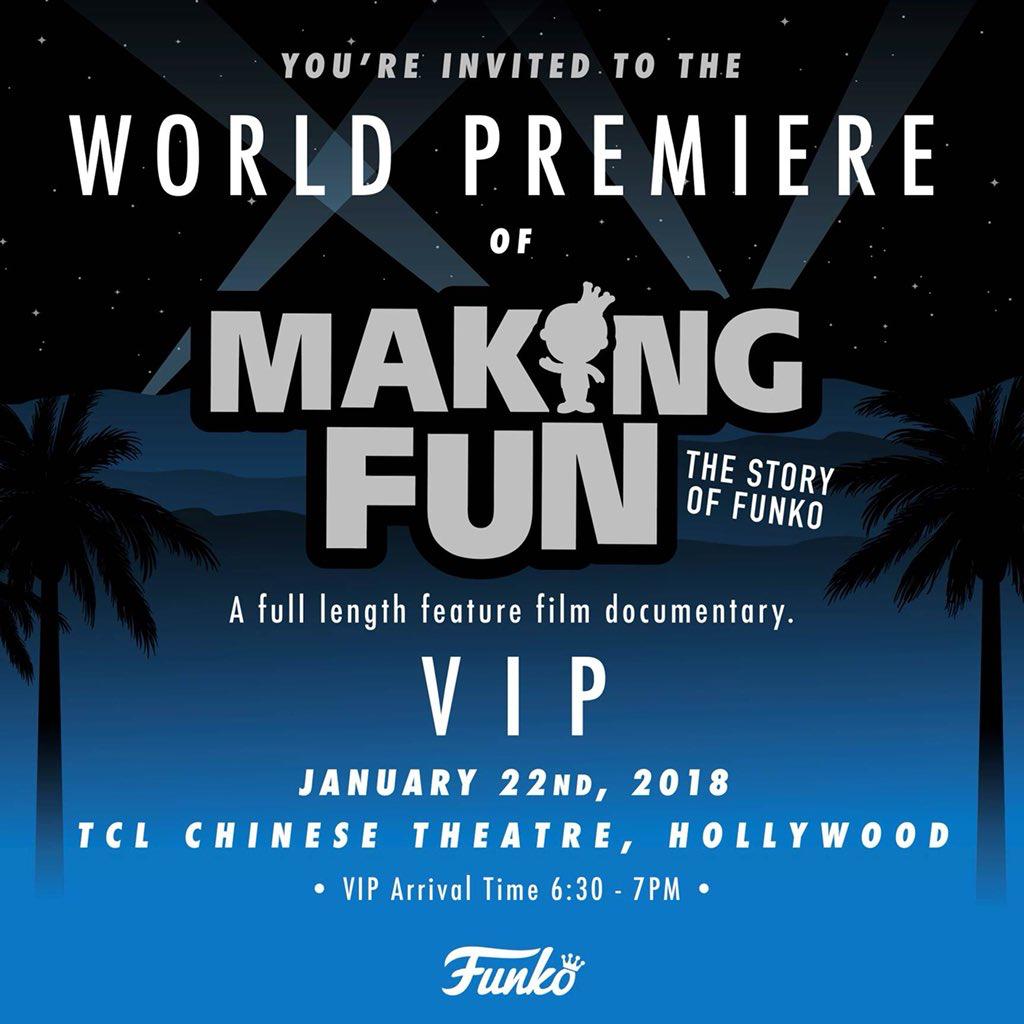 Funko Movie Premiere