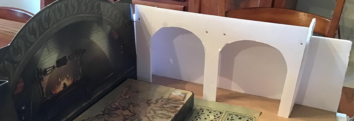 Jabba's Throne Room Diorama — THE SANDCRAWLER
