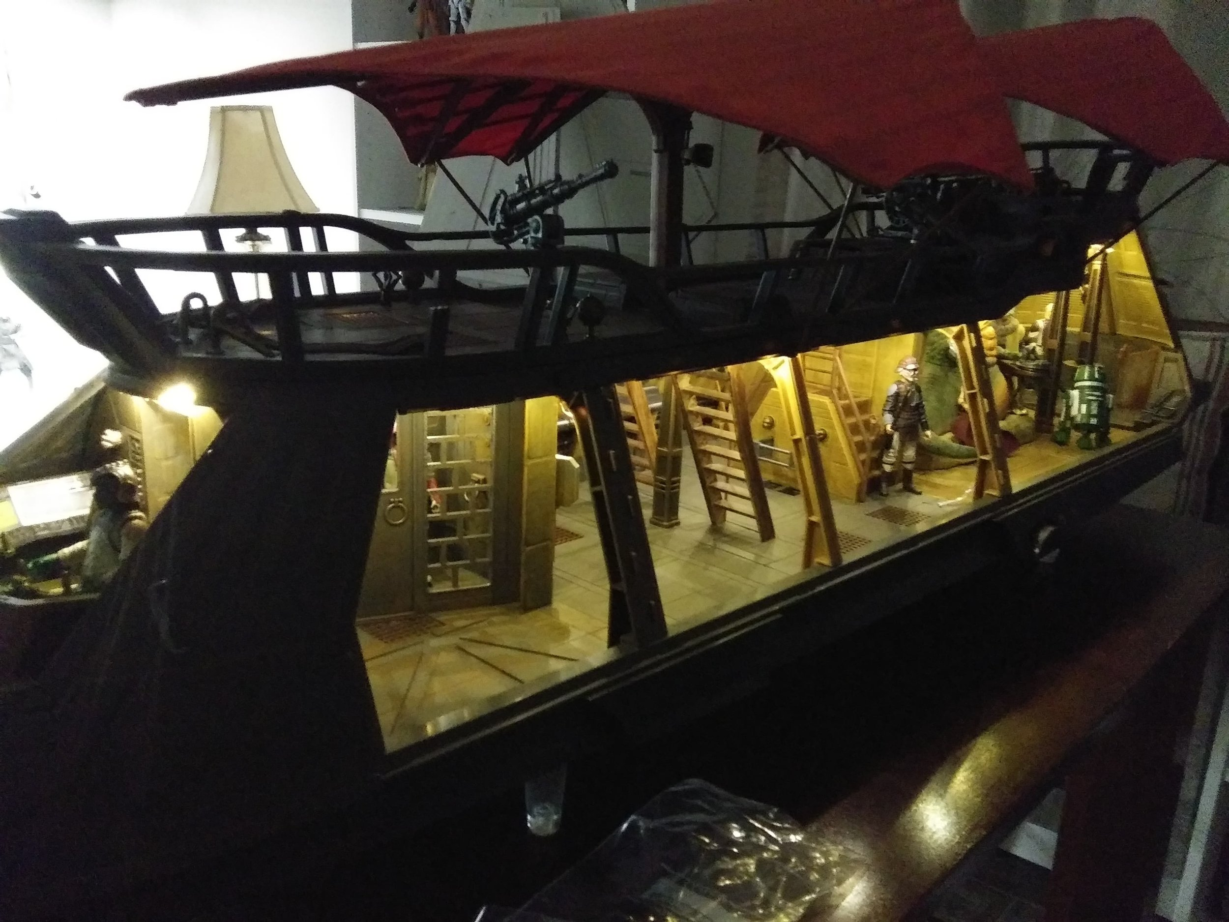 Jabba's Sail Barge Custom Lights