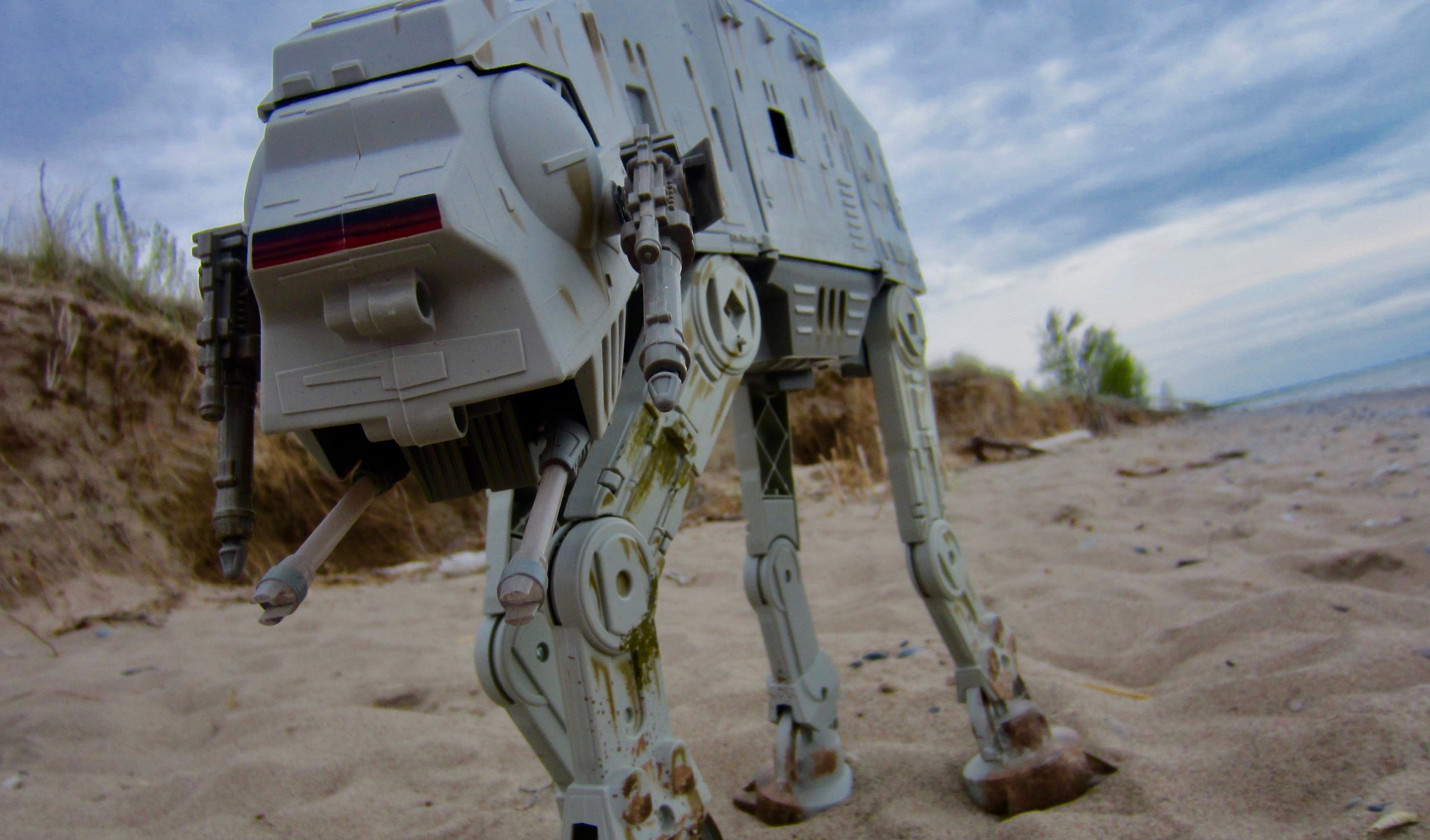 Imperial Walker On Patrol