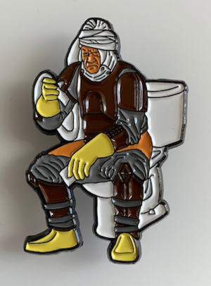 """This is the """"Dumpin Dengar"""" pin Dan received from """"Hall of Famer"""" Dave Fronsee!-Click pic for link to get your own!"""