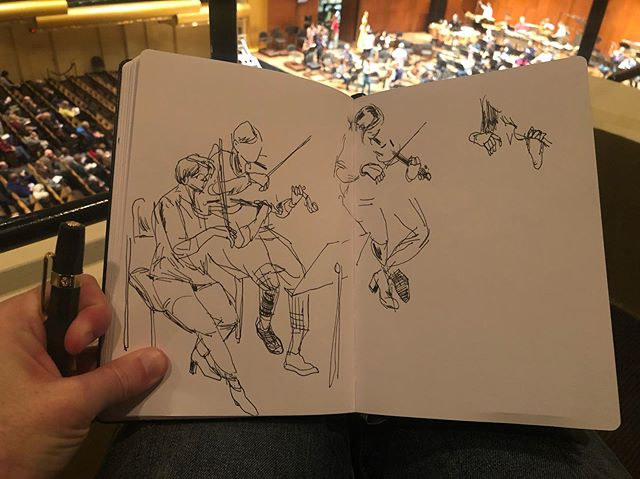 More of same (subtitle: back on my grind). @nyphilharmonic open rehearsal