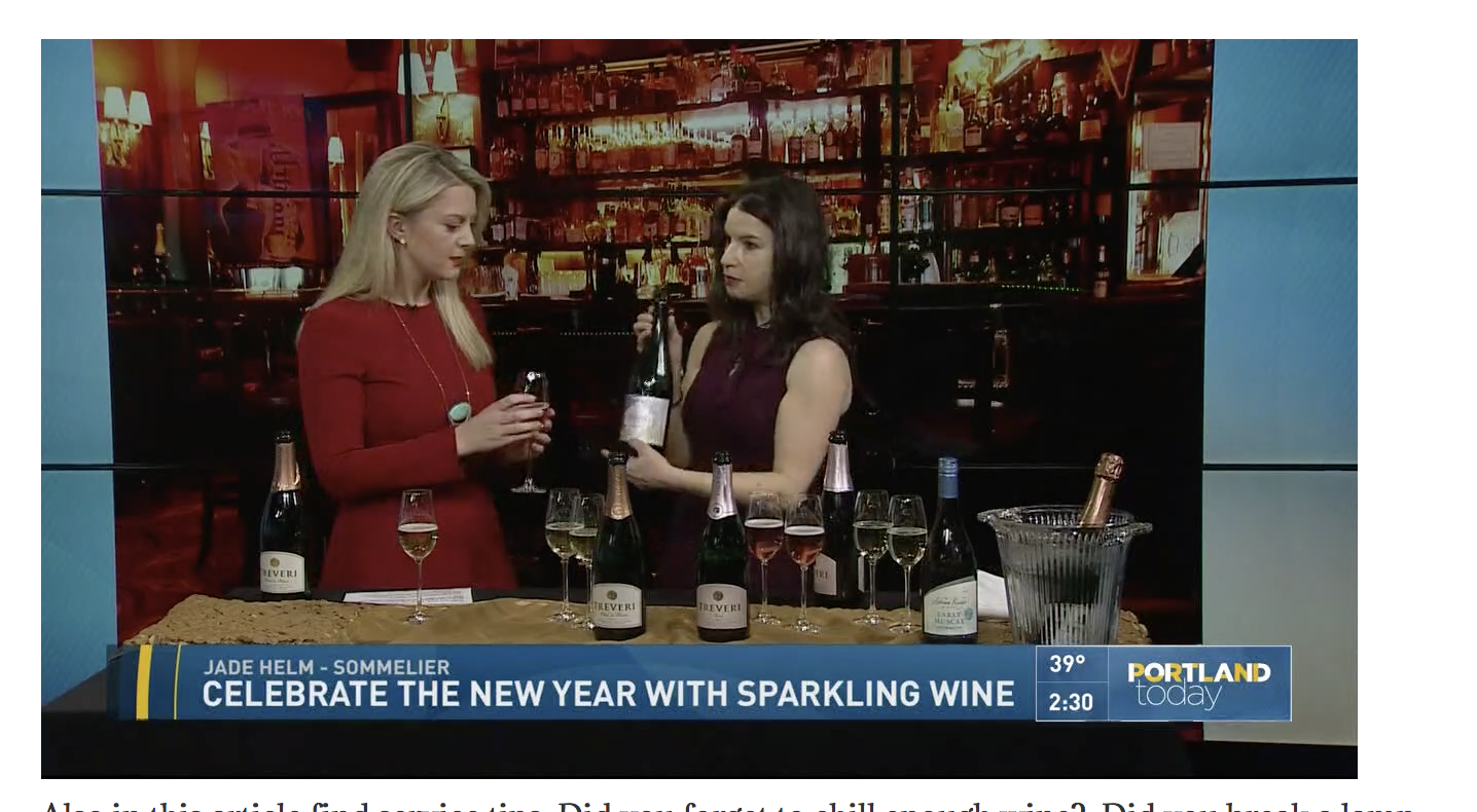 KGA PORTLAND TODAY REVIEWS SPARKLING WINES FOR THE NEW YEAR