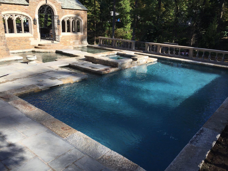 Castle Pool & Moat