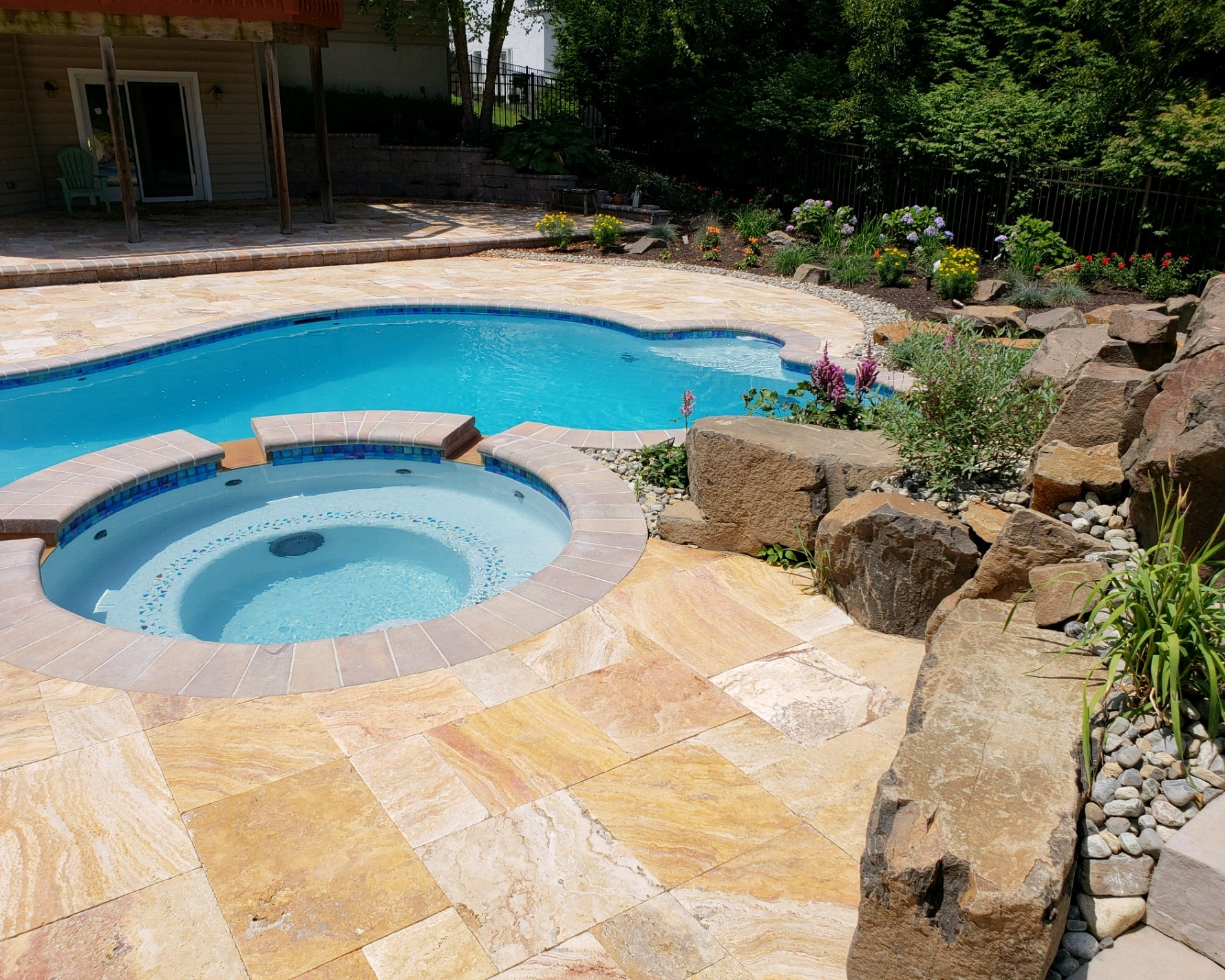 Custom Pool Projects — Green Outlook Landscaping