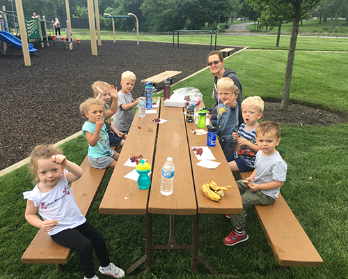 Week 10: The Outdoors - During our final week of camp from August 12-16, our theme will be camping and exploring the outdoors. We'll take an engaging field trip to a working farm! *August will be prorated if the child doesn't attend school year round at the center.