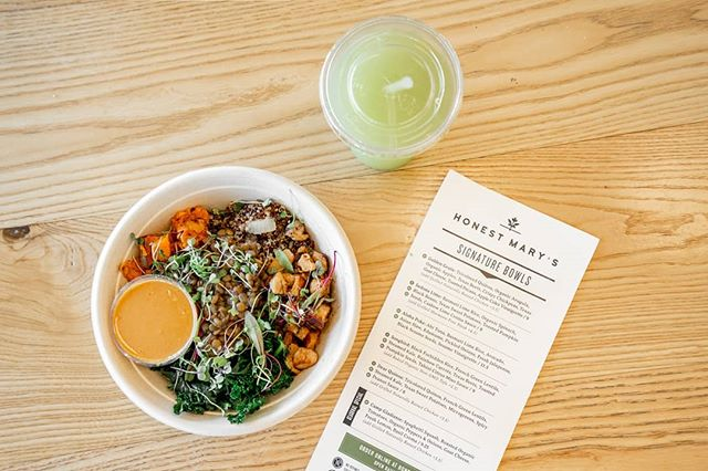 Did you know quinoa is offered in different colors? We love using tricolored Quinoa in our Dear Quinoa bowl to provide more nutrients.