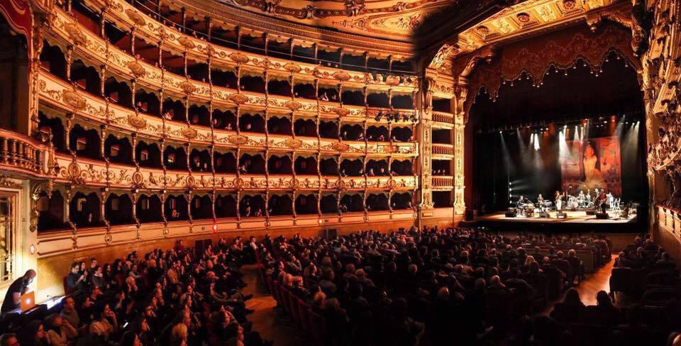 Ber mixing The Divine Comedy in Prescia, Italy