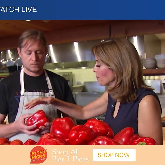 That's a bell pepper!! ABC News 7 @Link in bio. #process #bountyhunter #awkward