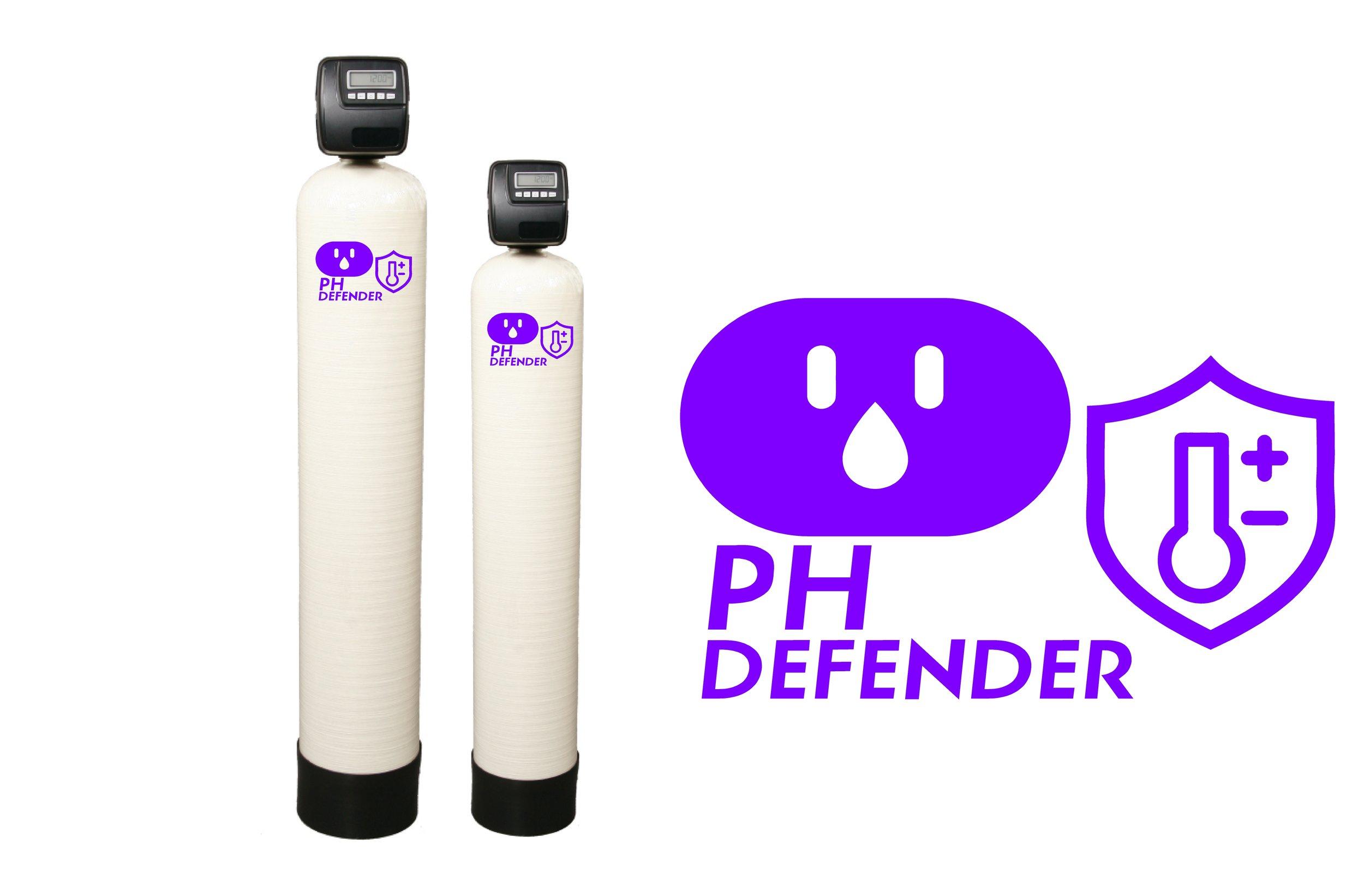 Ph water filtration alkalinization