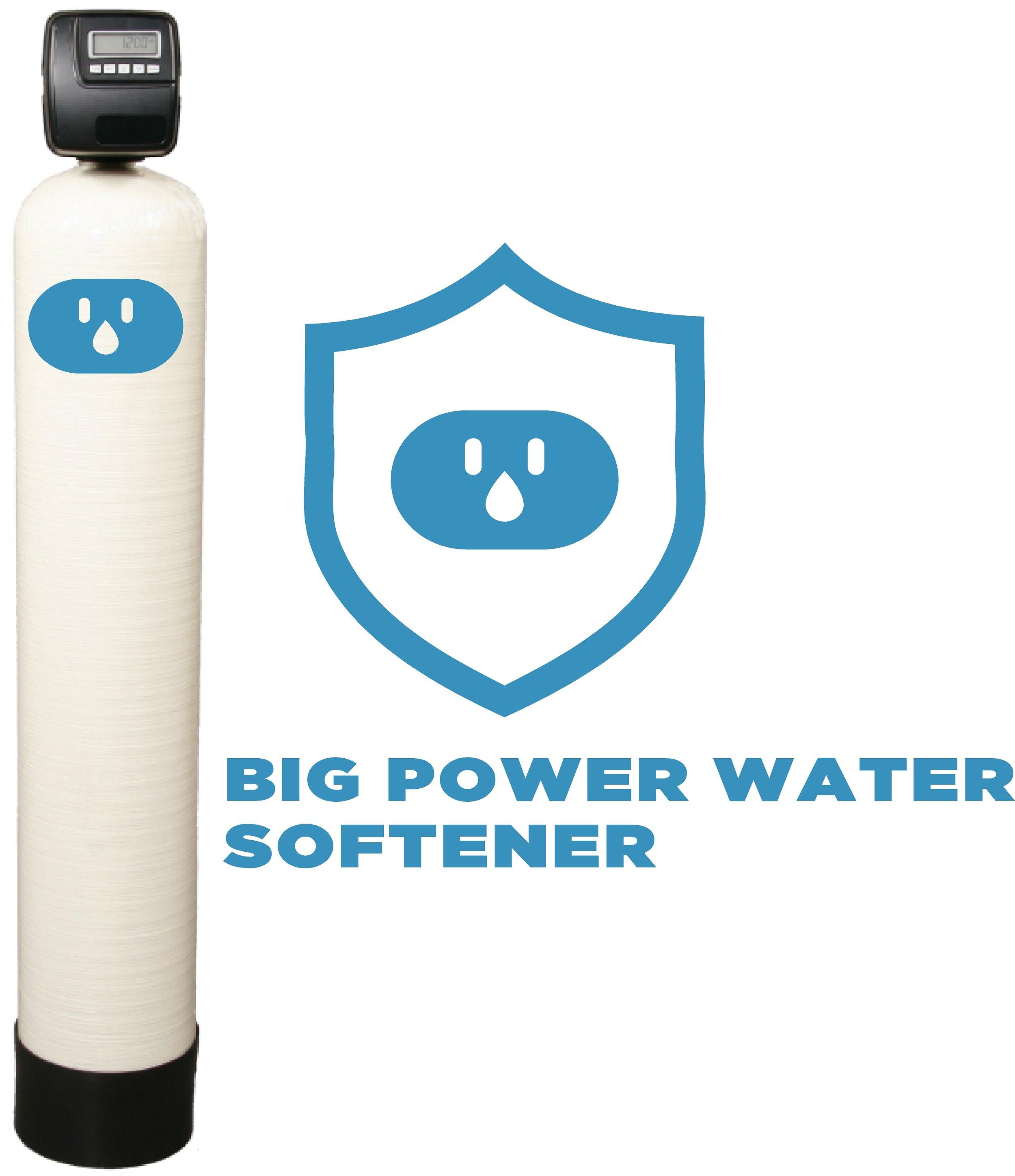 WATER SOFTENER BIG POWER WATER