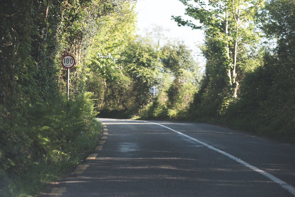As we drove through the Ring of Kerry the road seemed to get smaller, however the speed limit of 100km/h rarely changed.