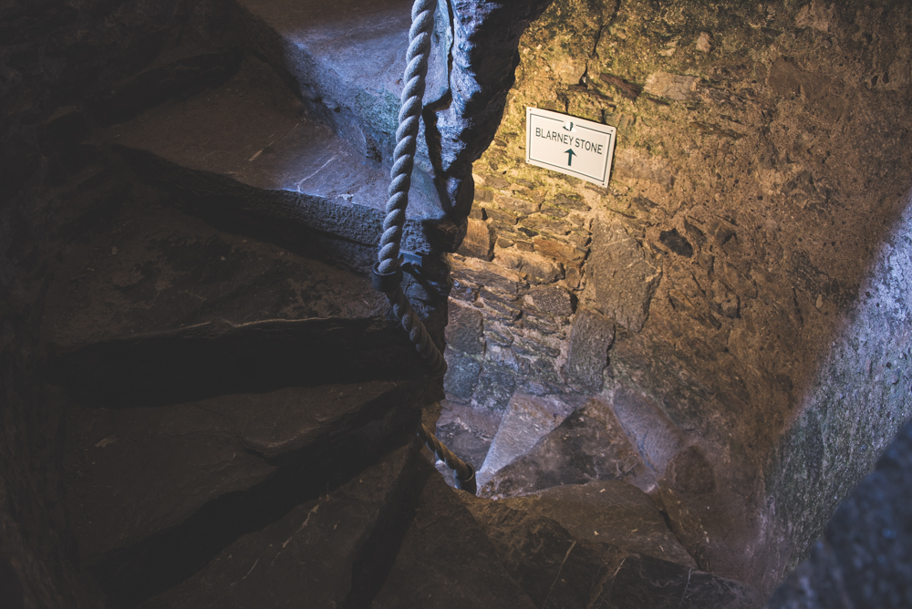 The reference of having a silver tongue for kissing the stone comes from the Blarney Stone located at the top of Blarney Castle. Every year thousands of people climb to the top to kiss the stone.