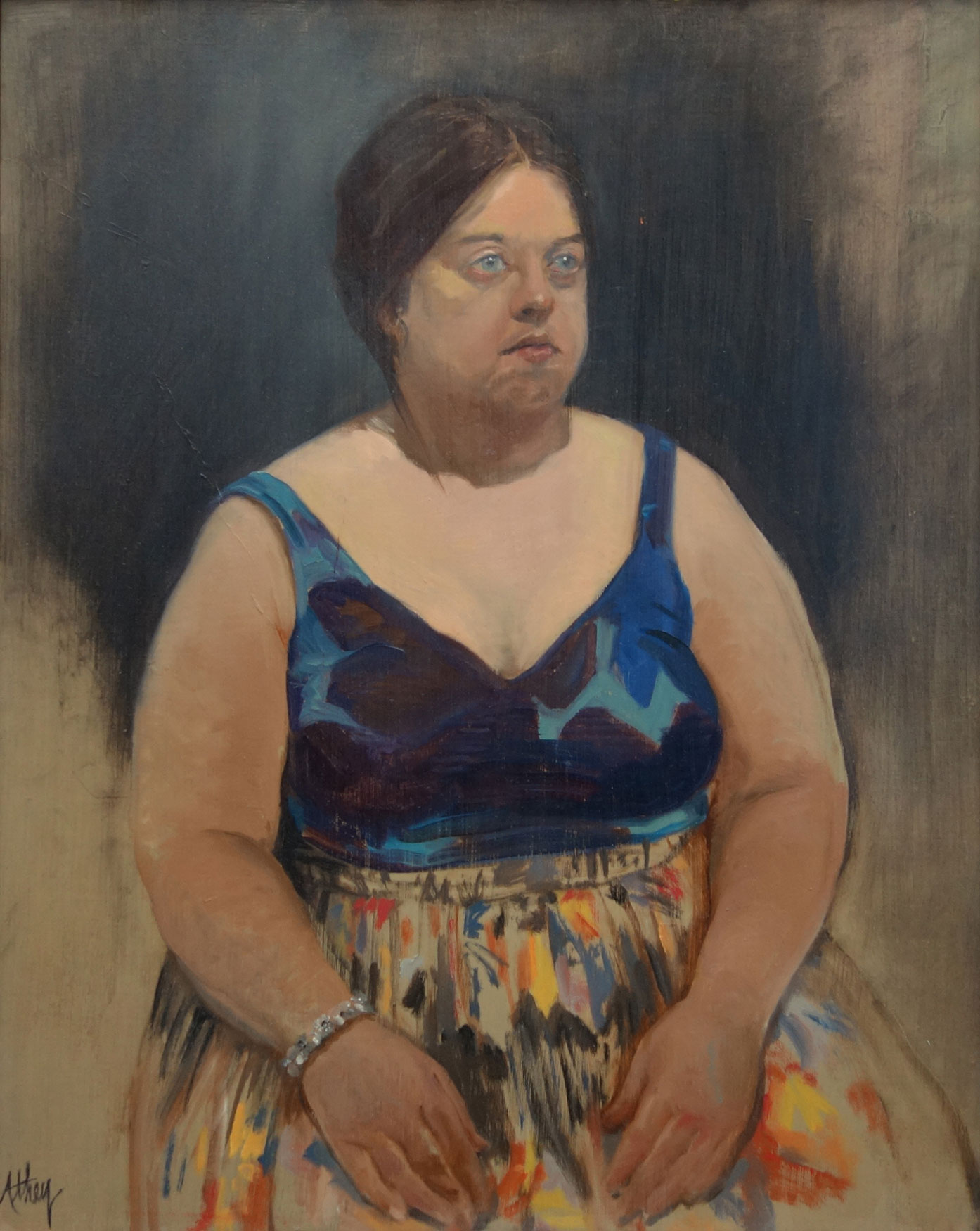 """The Diamond Bracelet"", 2010, 28x24"", Oil"