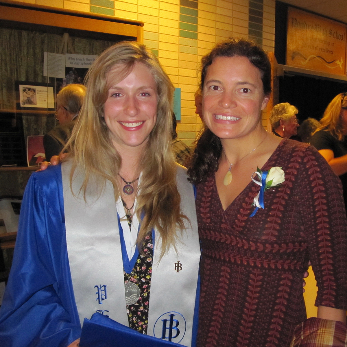 Students love me - This student named me as the most significant influence in the educational success she experienced while in the International Baccalaureate Program at Poudre High School. In her own words,