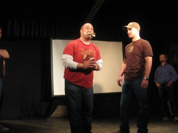 Improv in the back of a restaurant: A right of passage.