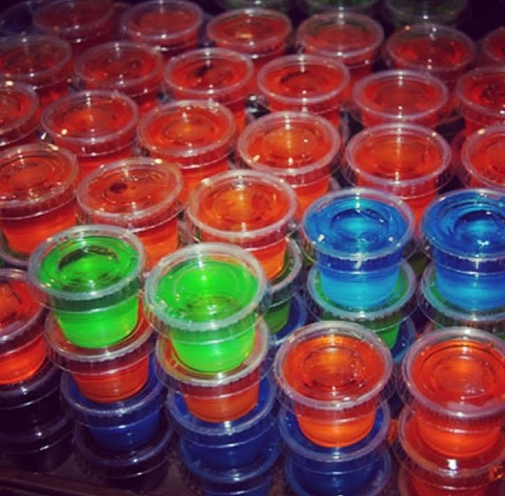 JELL-O shots quickly became a DCH event tradition.