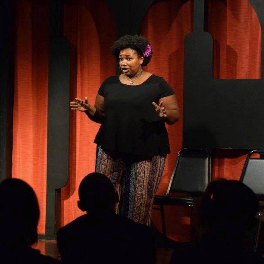 Julia Cotton at the 2017 Dallas Comedy Festival