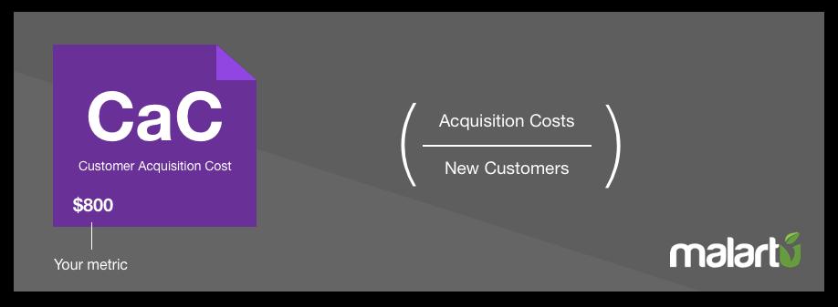 Customer Acquisition Cost - Malartu - eCommerce KPIs