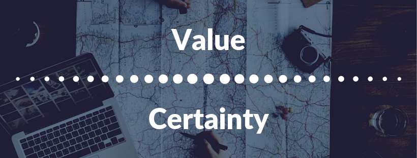 Value and Certainty