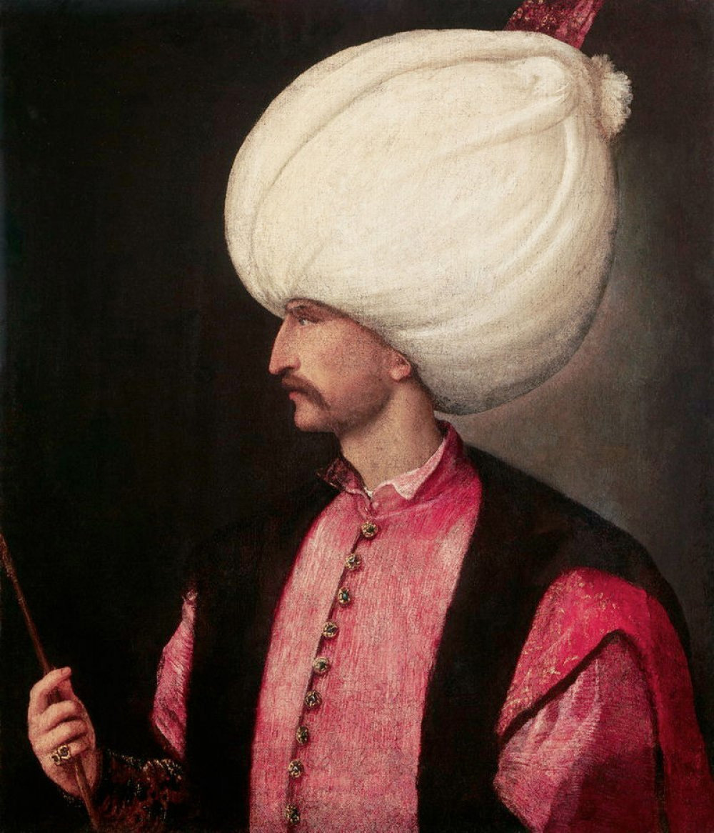 Suleyman - and all the pleasance of his mien.