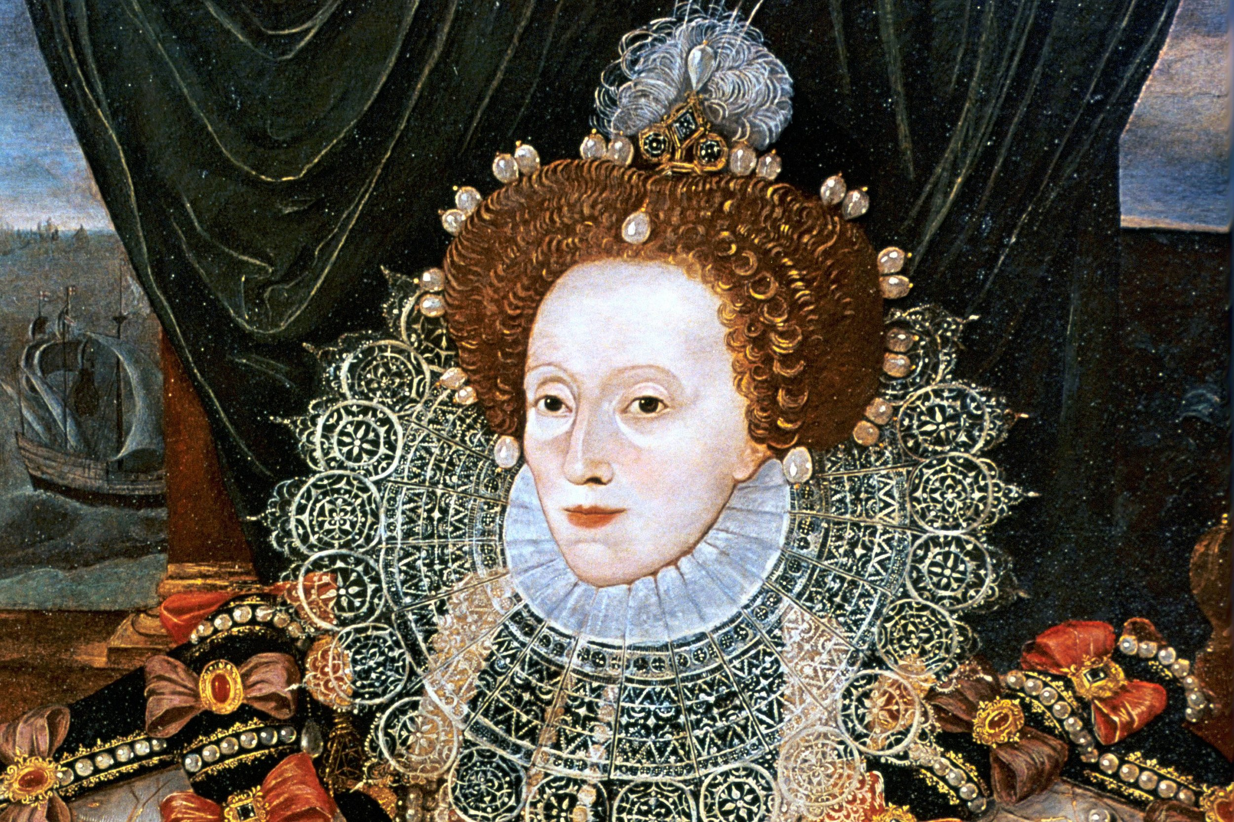 The grass is always Gloriana: Elizabeth gives her Roy'l Strong stare