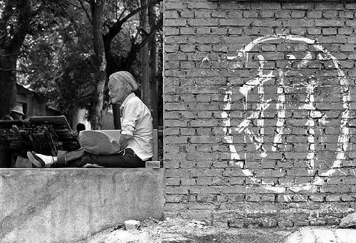 'Nice  Chai' - a resident of old Peking faces down demolition.
