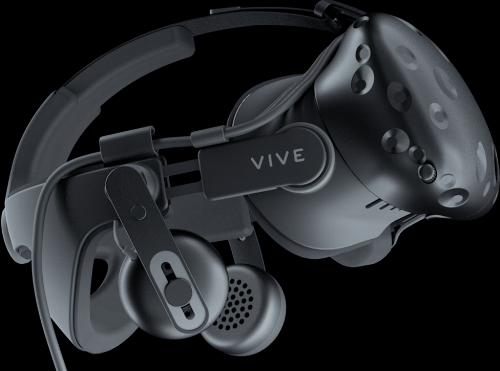 The Vive's Deluxe Audio Strap is comfortable, easily adjustable, and has quality headphones built-in.