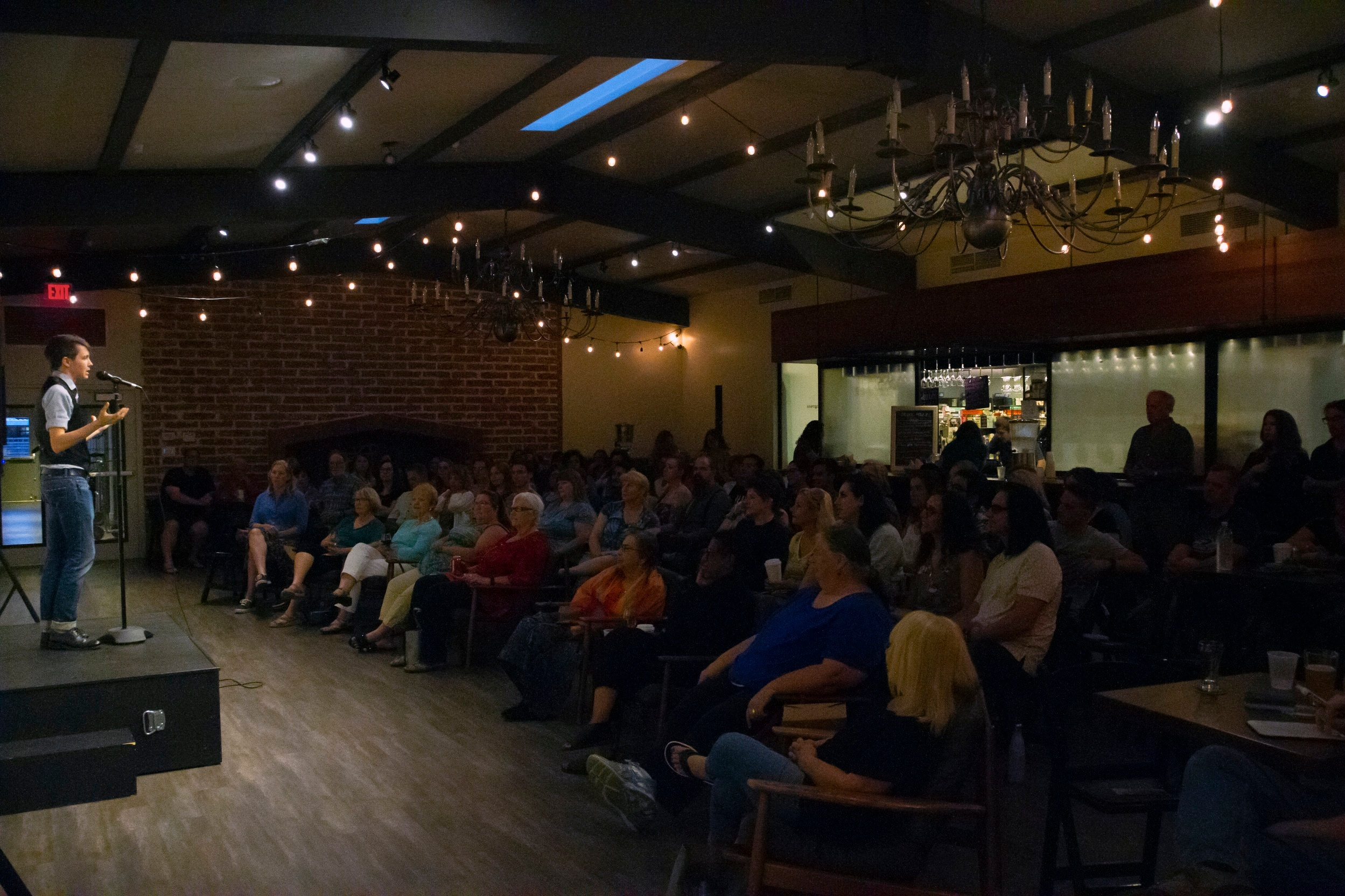 Photo taken at The Storyline Slam by Gary Pratt