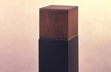 Robert Morris, Box with the Sound of Its Own Making, 1961. Fair use.