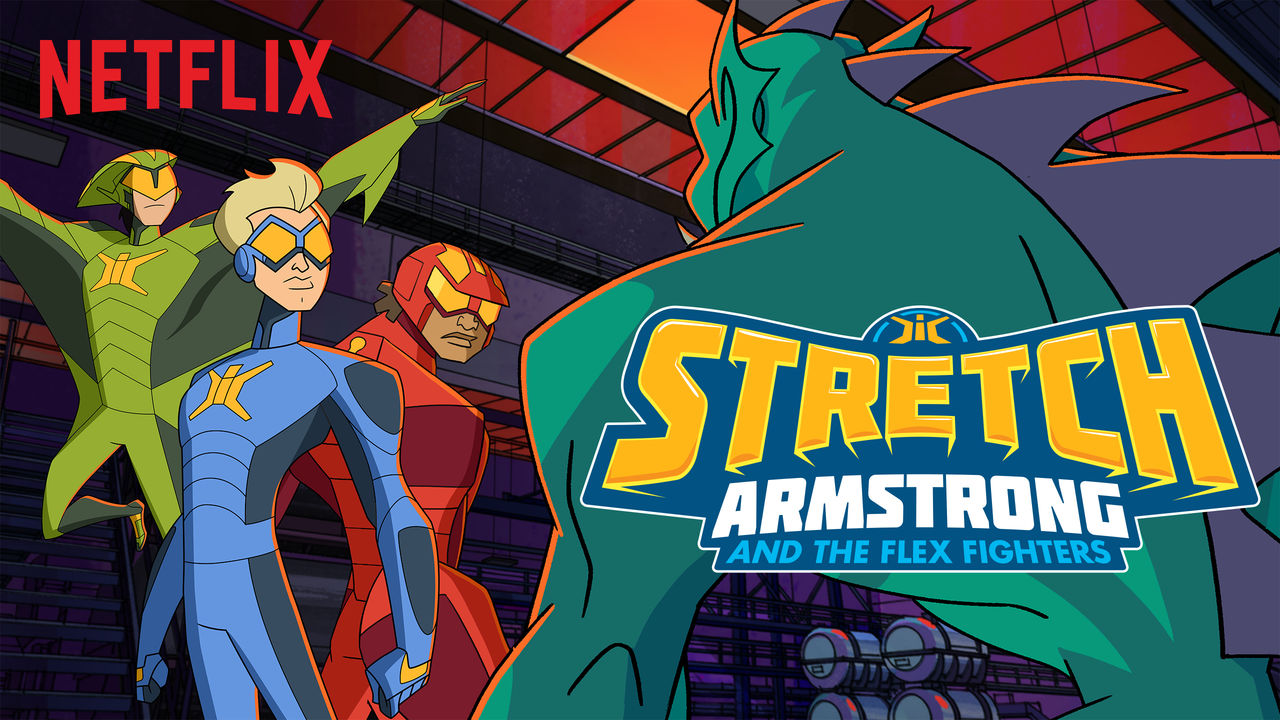 "Hasbro Studios/Netflix ""Stretch Armstrong & The Flex Fighters""  Storyboard Revisionist"