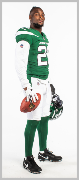 Photo: Jets website. Bell looking slim and trim.