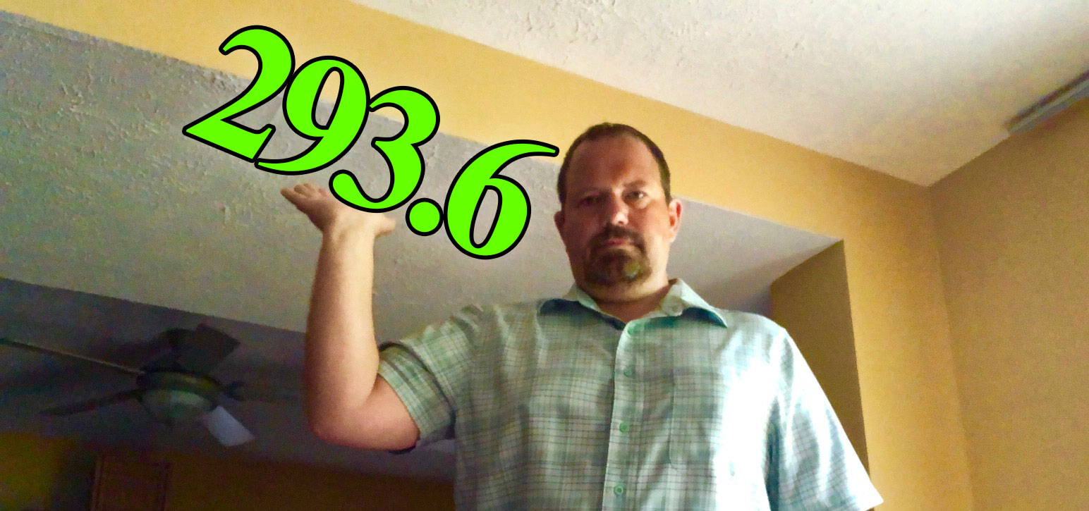 The weight is down… But I am still carrying 291. That's a lot of weight. Can Intermittent Fasting help me get down to my goal weight of 220s?