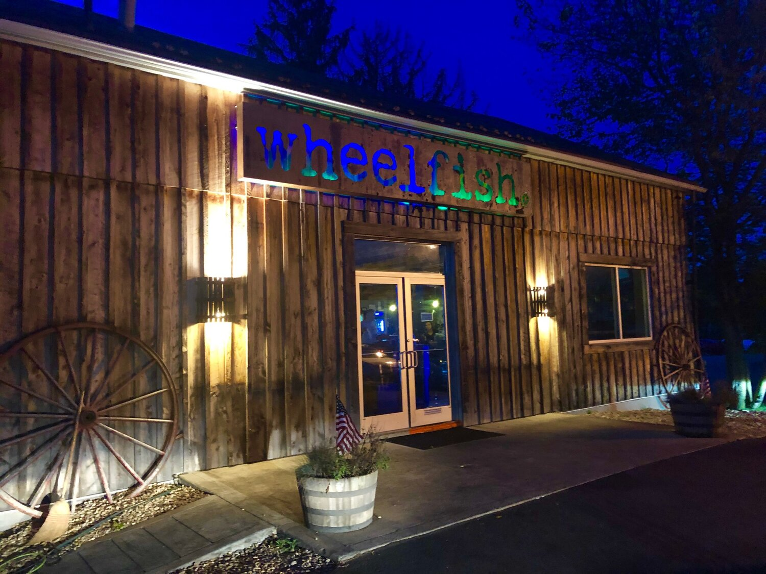 The Wheelfish in Ross Township, Pa. Great barbecue food.