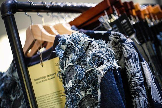 Textile innovations rock our indigo world! #kingpins #kingpinsshow #kingsofdenim