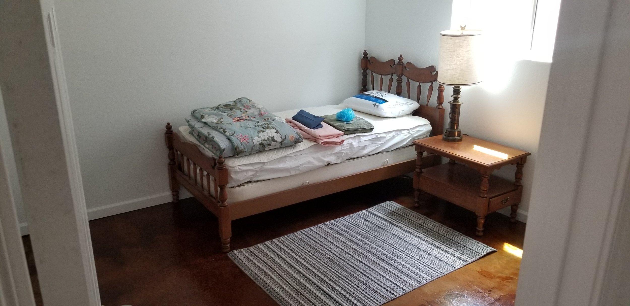 Bedrooms 2 & 3 complete