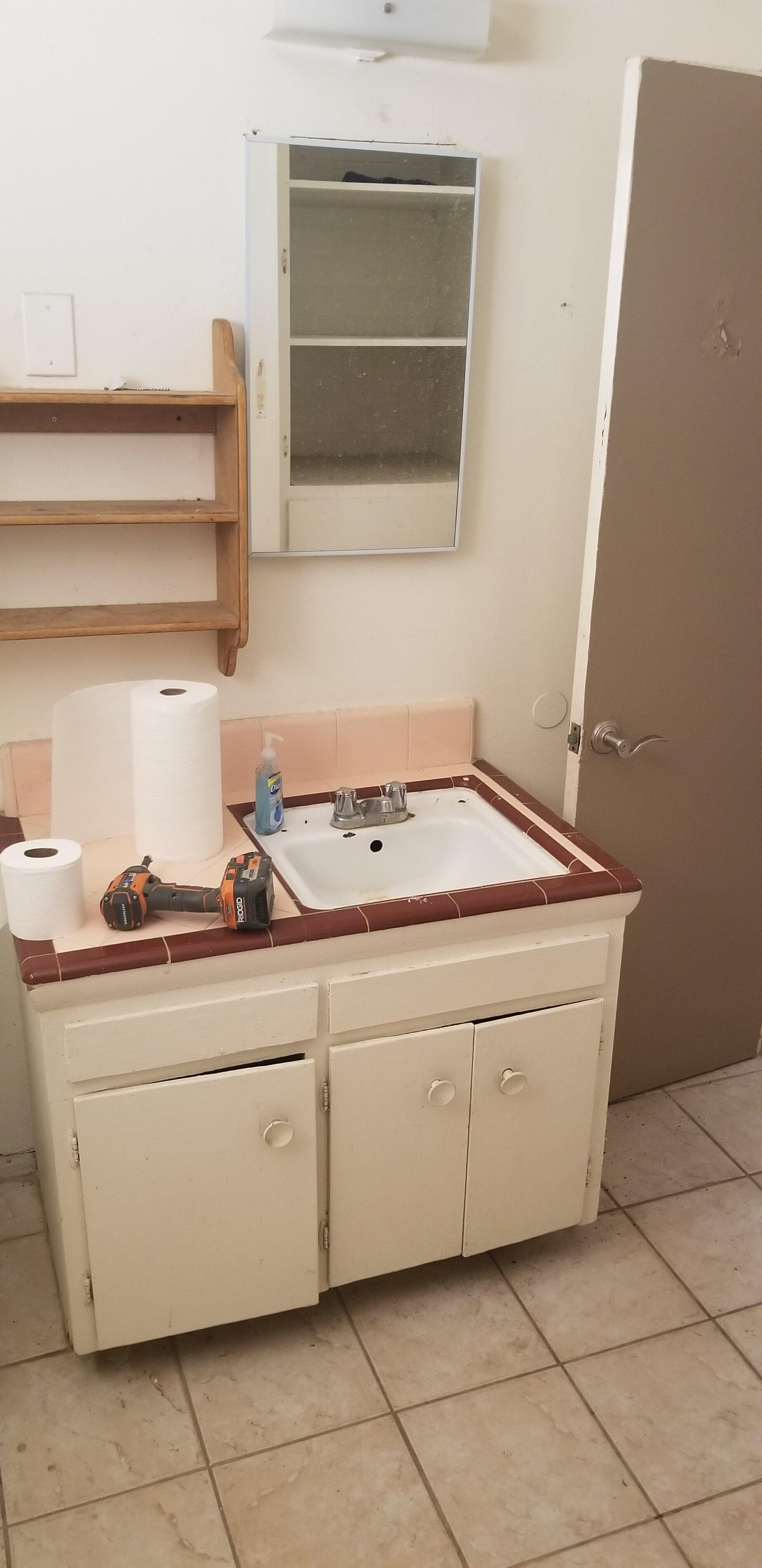 Bathroom start