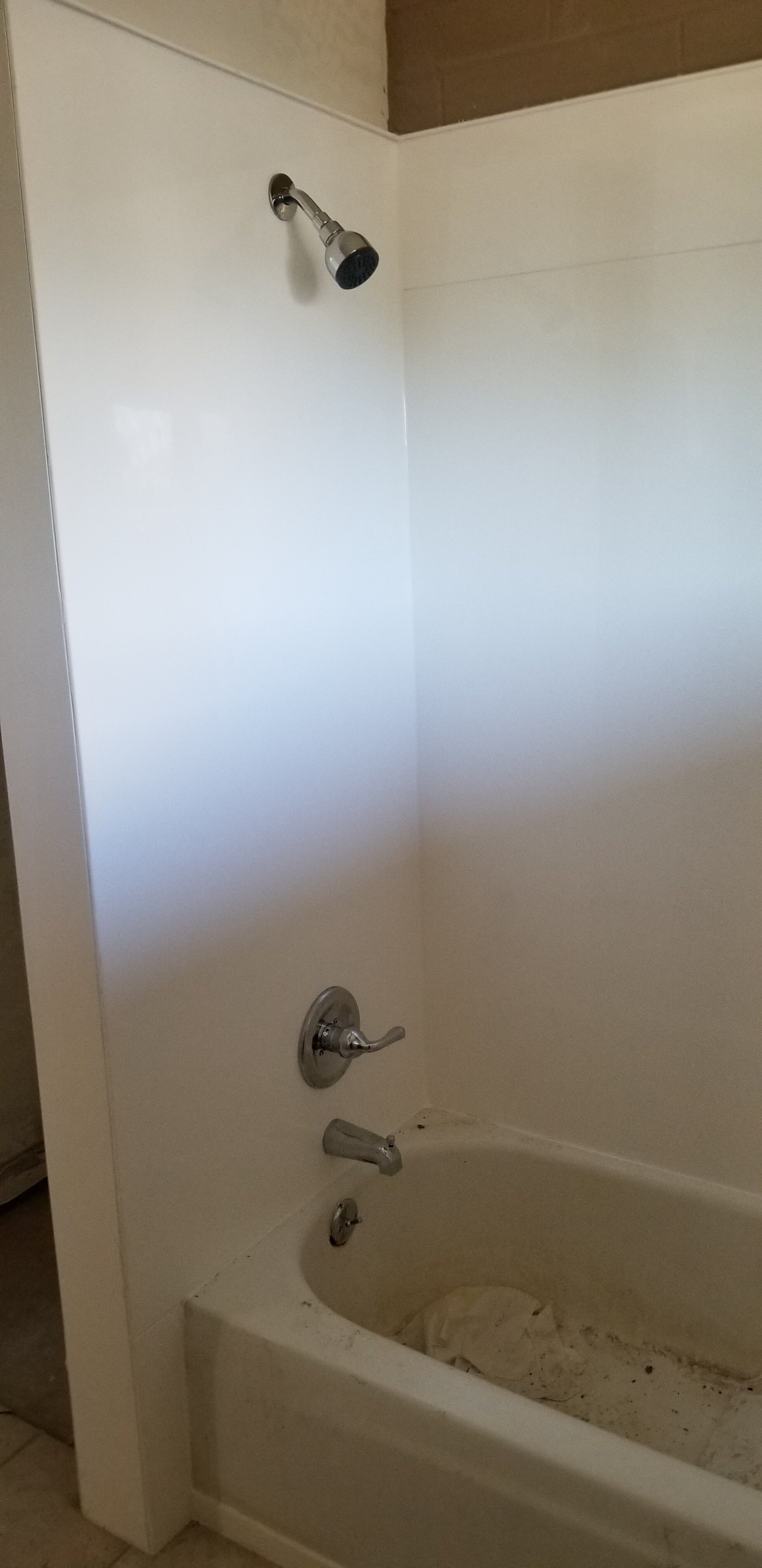 New Cultured Marble Shower Walls