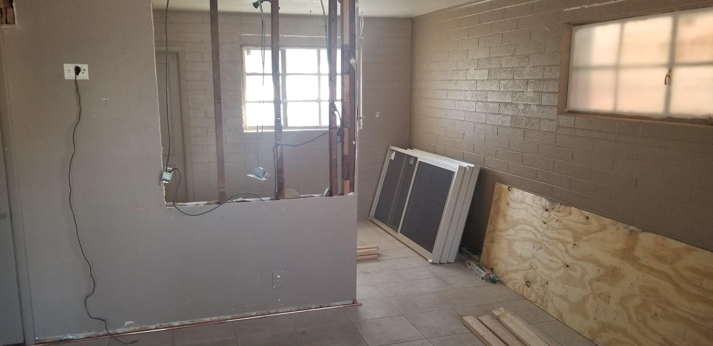 Living room demo