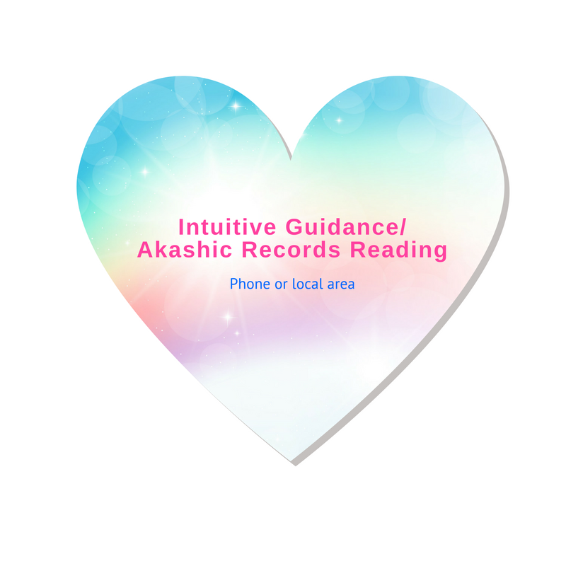 Intuitive Guidance/Akashic Records Reading - Phone or local area