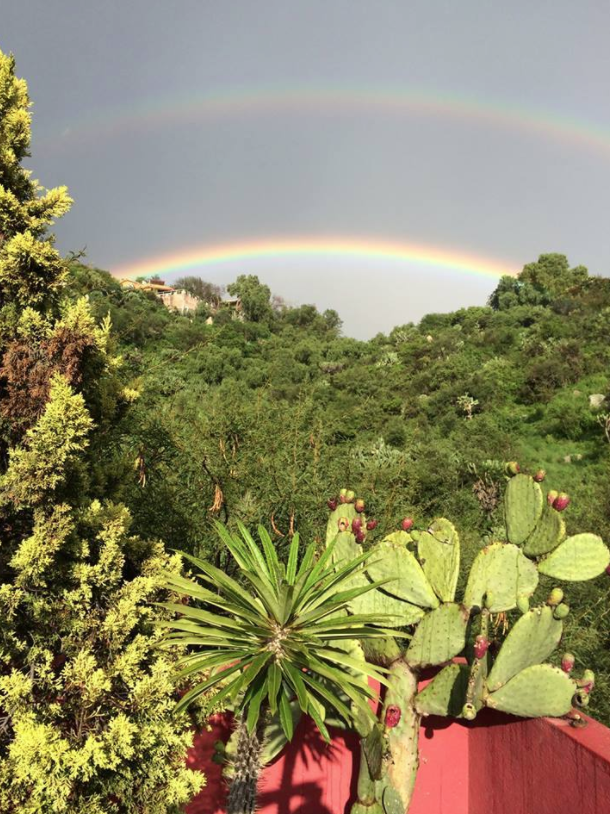 Ivo Antman -  Double Rainbow over San Miguel de Allende, Mexico